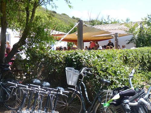Terrasse Ile d'Yeu, Port de la Meule