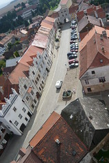 Slavonice, South Bohemia (G Travels) Tags: square churchtower czechrepublic southbohemia slavonice