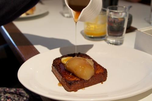 Caramelised brioche