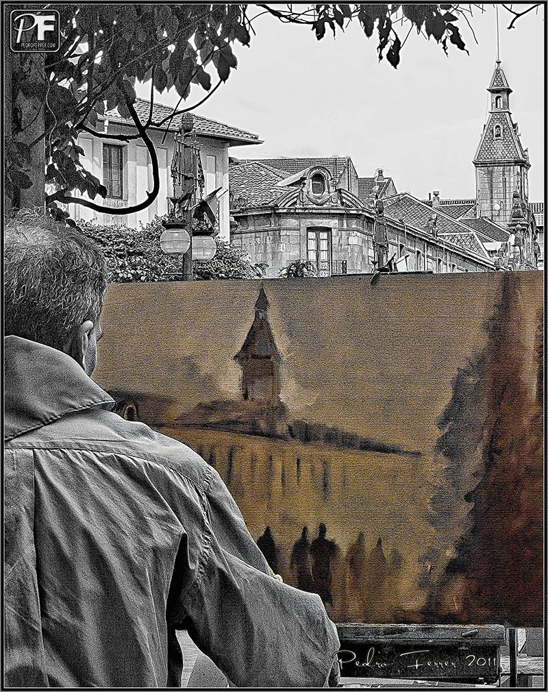 Torrelavega - Fiestas de la Virgen Grande - Concurso pintura rápida 2011