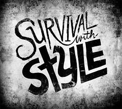 20110822-SurvivalWStyle (Chris Piascik) Tags: texture lyrics hiphop lettering handdrawntype shabazzpalaces weatheredtypography