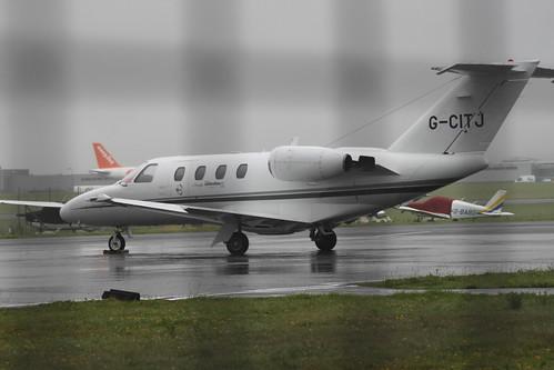 Centreline Air Charter Cessna 525 @ Bristol Airport