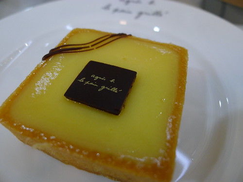 Ophelie - a lemon custard tart