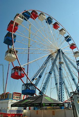 Ferris Wheel at Funtown Pier