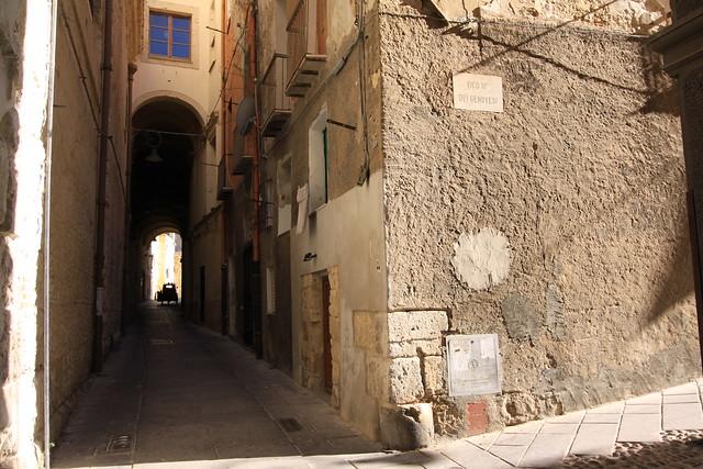 Old town, Cagliari.