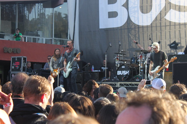 Bush @ Sunset Strip Music Festival 2011