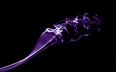 purple ripple (Rana | FotoGraf) Tags: abstract black nikon purple ripple smoke d90