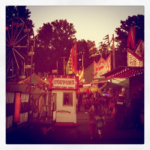 At the fair!