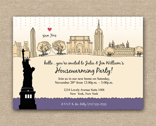 Blog_I Love New York Invitation_DIY_Purple, I Love New York Party Theme, New York Birthday Party Theme, Fun Announcement Card, Personalized Party Invitation, Birthday Invitation Designs, Fabulous Invitation Designs, DIY Party Design Invitations, Personalized Invitations, Sweet 16 Birthday Party Invitations