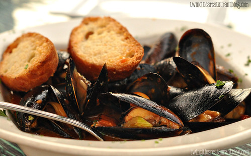Baked Mussels at Santorini Taverna ~ Eden Prairie, MN