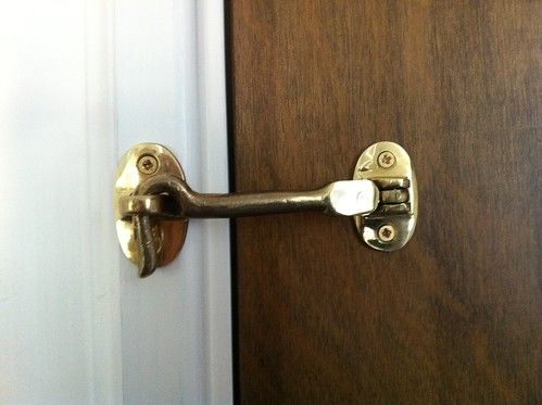 Cabin door lock