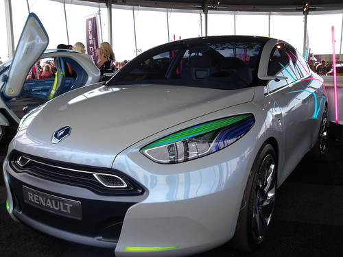 Renault Fluence ZE concept car