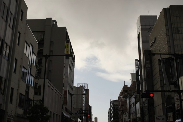 季節外れの?台風