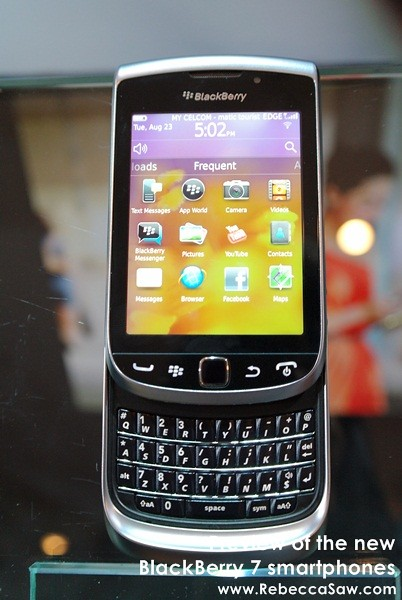 new BlackBerry 7 smartphones - torch, curve , bold-1