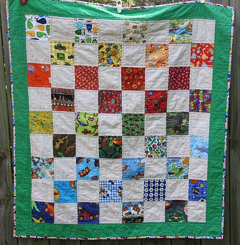My 1st quilt by formy2boys