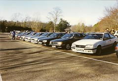Opel Monza's at Box Hill (acd40) Tags: coupe royale opel vauxhall monza gse 30e rmoc 3000e vauxhallroyale opelmonza vauxhallroyalecoupe royalemonzaownersclub