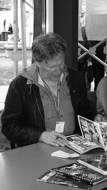 Edinburgh International Book Festival - Pat Mills & Rodge Glass 03