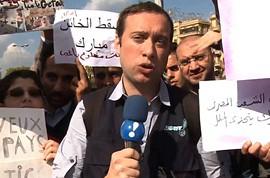 Repórter da RedeTV enfrenta fogo cruzado entre rebeldes e a tropas de Gaddafi na Líbia by Portal Itapetim