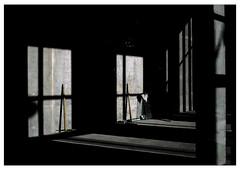 Untitled-windows/reflections (Philippe Yong) Tags: paris 120 film analog mediumformat reflections rangefinder analogue 6x7 constructionsite reflets urbanlandscape 80mm mamiya7ii moyenformat fujiprovia400x philippeyong wwwpyphotographyfr