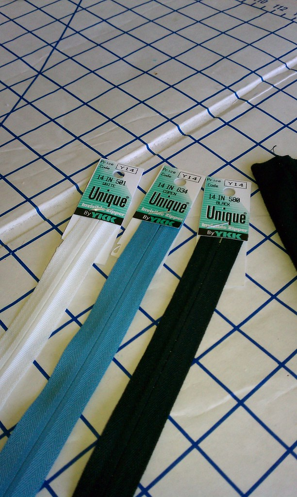 Zippers for Projects