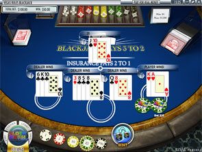 Blackjack Multi-Hand Rival Strategy