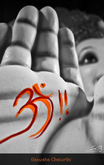 [Explored 31-08-2011 #265]hand of god (swarat_ghosh) Tags: blackandwhite india festival nikon asia god bokeh 1855mm hyderabad hindu hinduism ganapati hindufestival selectivecolor lordganesha festivalseason ganeshchaturthi explored d3000 swaratghoshphotography