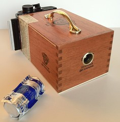 My Pinhole Camera Project (Henricus) Tags: camera film diy pinhole homemade graflex cigarbox lenoxlaser