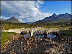 sligachan bridge by janeau