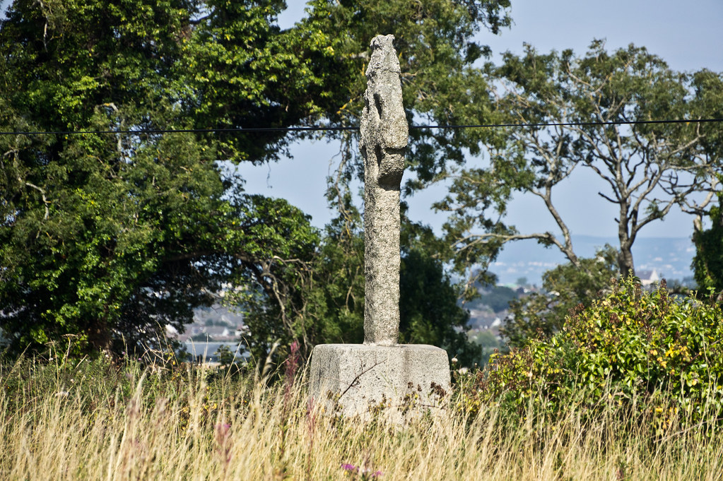 Old Celtic Cross On Lehaunstown Road