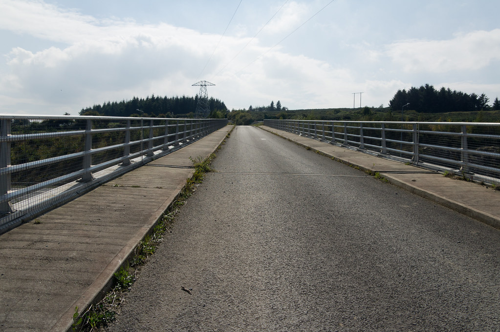 I Was A Bit Surprised By This Bridge Over The M50 From Lehaunstown Road (In Very Poor Condition) To A Field
