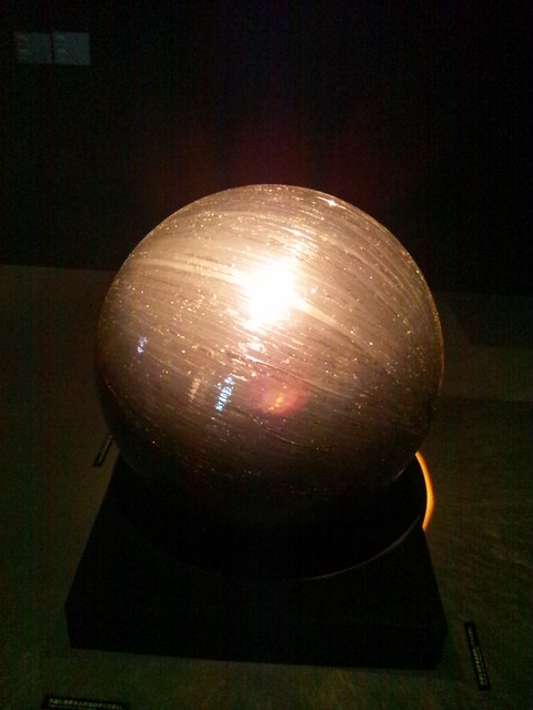 鉄球-横浜トリエンナーレ2011の写真