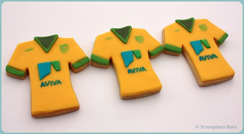 NCFC Cookies by Scrumptious Buns (Samantha)