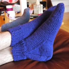 Easy Peasy Knitted Socks