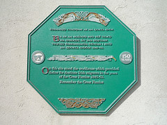Photo of Green plaque number 7926