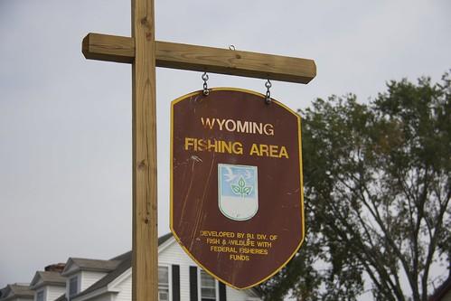 Wyoming Fishing Area