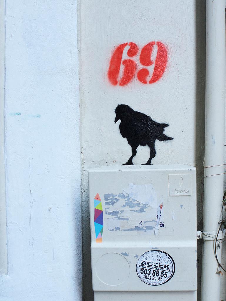 Graffiti near Galata tower