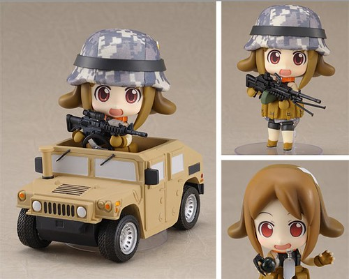 Army-san Desert in various pose