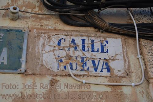 Placas - Calle Nueva