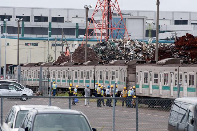 JR東日本 203系マト53編成 川崎市営埠頭へ回送