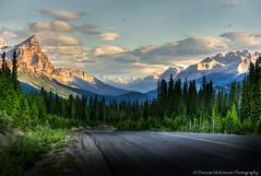 Land Of Enchantment (nailbender) Tags: travel mountain canada landscape highway roadtrip albertacanada canadianrockies nailbender dragondaggeraward