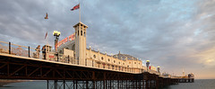Brighton Pier (kh1234567890) Tags: england unitedkingdom pentax k7 1855mm smcpentaxda1855mmf3556alwr brighton pier sunset seaside smcpda1855mmf3556alwr