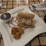 "Churros at La73 <a style=""margin-left:10px; font-size:0.8em;"" href=""http://www.flickr.com/photos/14315427@N00/6121145609/"" target=""_blank"">@flickr</a>"