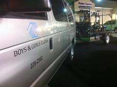 Matt's Boys and Girls Club Van