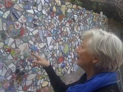 Ank (de Muur van Geluk) Tags: shertogenbosch demuurvangeluk denbosch geluk mozaiek muur scherven