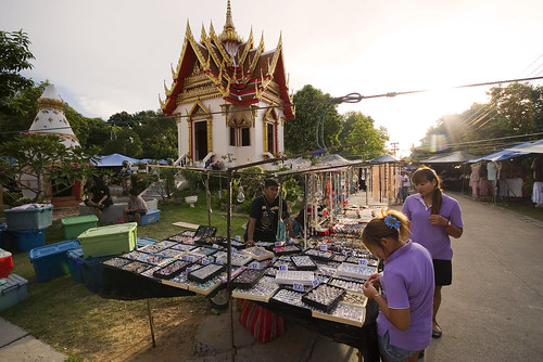 Jewelery at Karon temple market