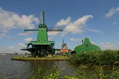 windmill (WWW.CYCLETOURS.COM) Tags: flowers cycling tulips denhaag barge keukenhof readyforspring visitholland historicalholland