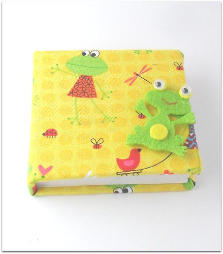 Note book sapinho by Fuxiquices-da-isa