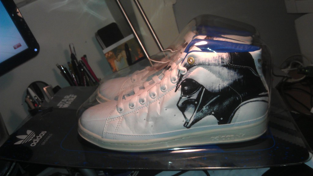 the latest b2290 21ce0 My New Stan Smith 80s (buckofive) Tags  mobile starwars darthvader adidas  stansmith mobypicture