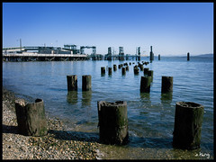 Anacortes Ferry Terminal (sking5000) Tags: county beach ferry pier terminal sound skagit anacortes puget sking5000