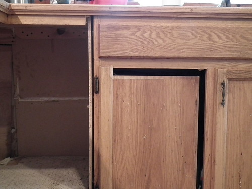 crappy cabinetry